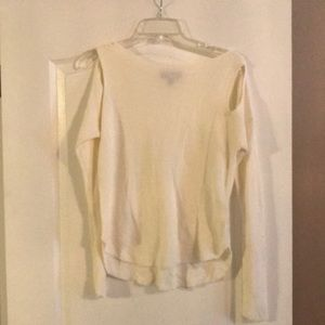 Express shoulder cut out sweater